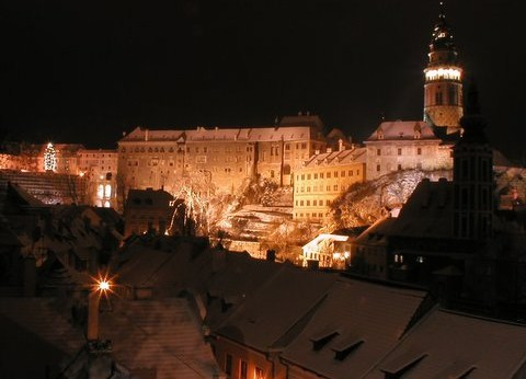 Cesky Krumlov Night Tour private